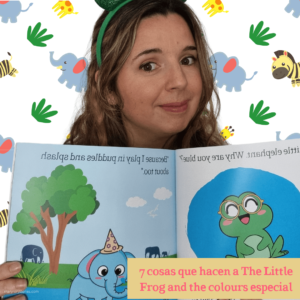 7 cosas que hacen a 'The Little Frog and the colours' especial